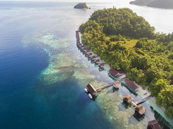 Raja ampat papua paradise eco resort diving package ga xpert holidays - Raja ampat dive resort ...